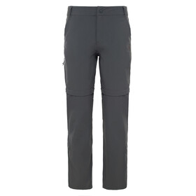 The North Face Exploration Convertible Pants Women regular asphalt grey